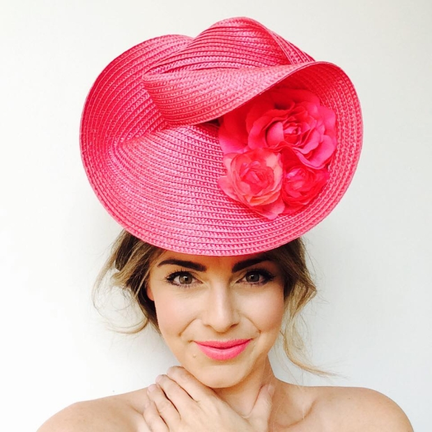 2017 Kentucky Oaks hat by SHOW PONY Millinery