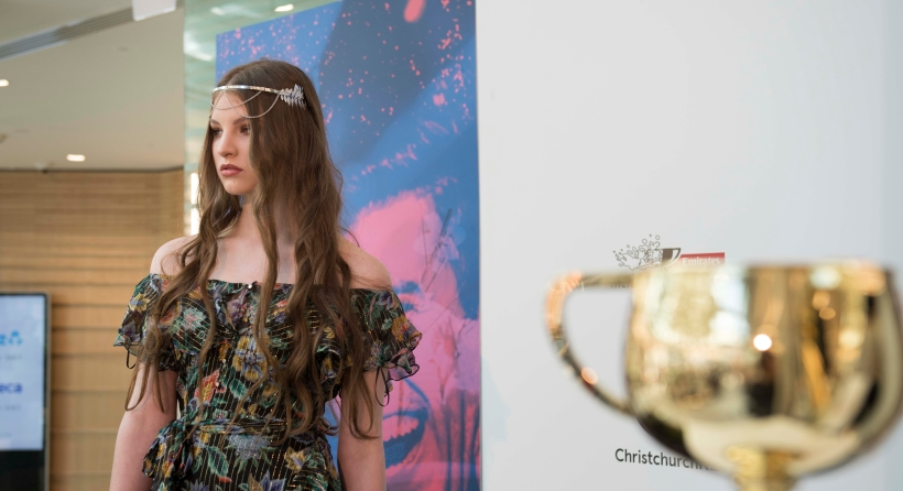 Our Melbourne Cup hats and headpieces were on show in Christchurch