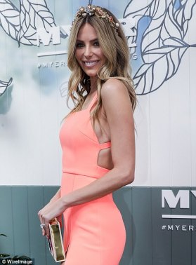 b45d022366c Jennifer Hawkins at the 2017 Myer Spring Racing Fashion Collection launch