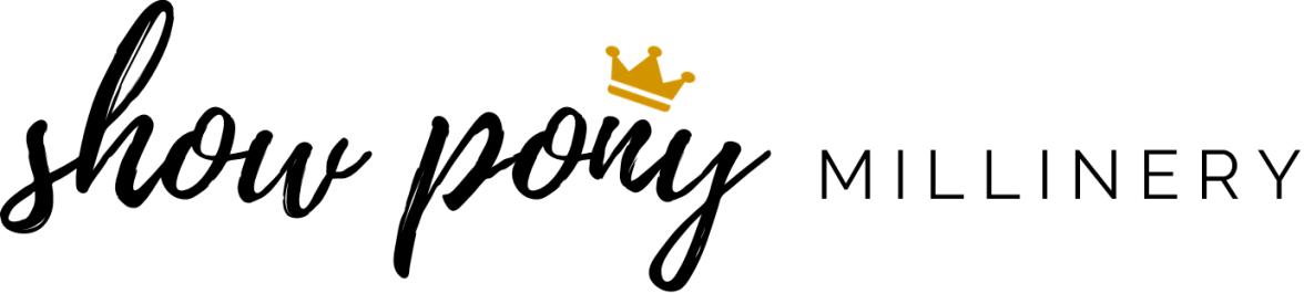 SHOW PONY Millinery | Fascinator Headpiece & Hat Designers