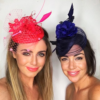 Ladies derby and races hats by
