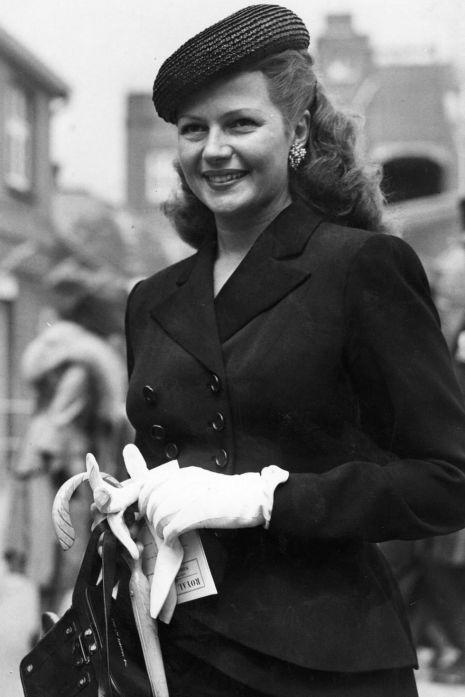 Rita Hayworth Royal Ascot 1950