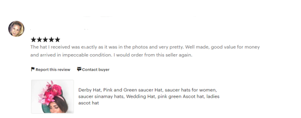 Review Show Pony Millinery Hats
